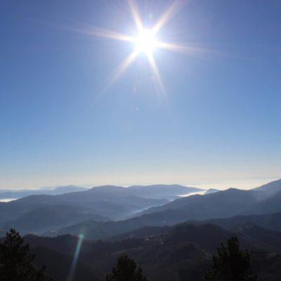 Dal Lago Brasimone a Poggio di Petto