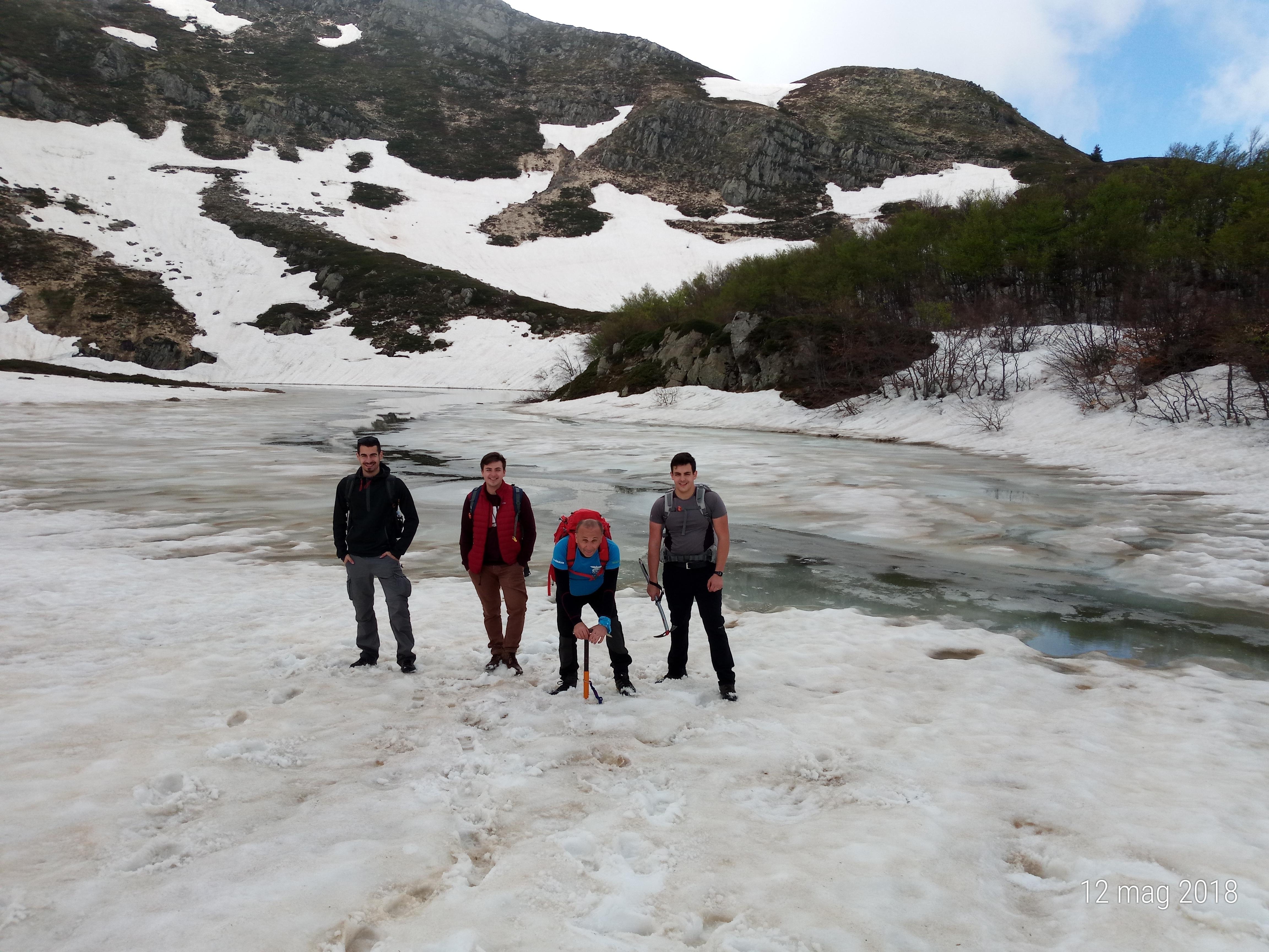 Notte al bivacco del Lago Nero (Abetone-Alpe Tre Potenze)