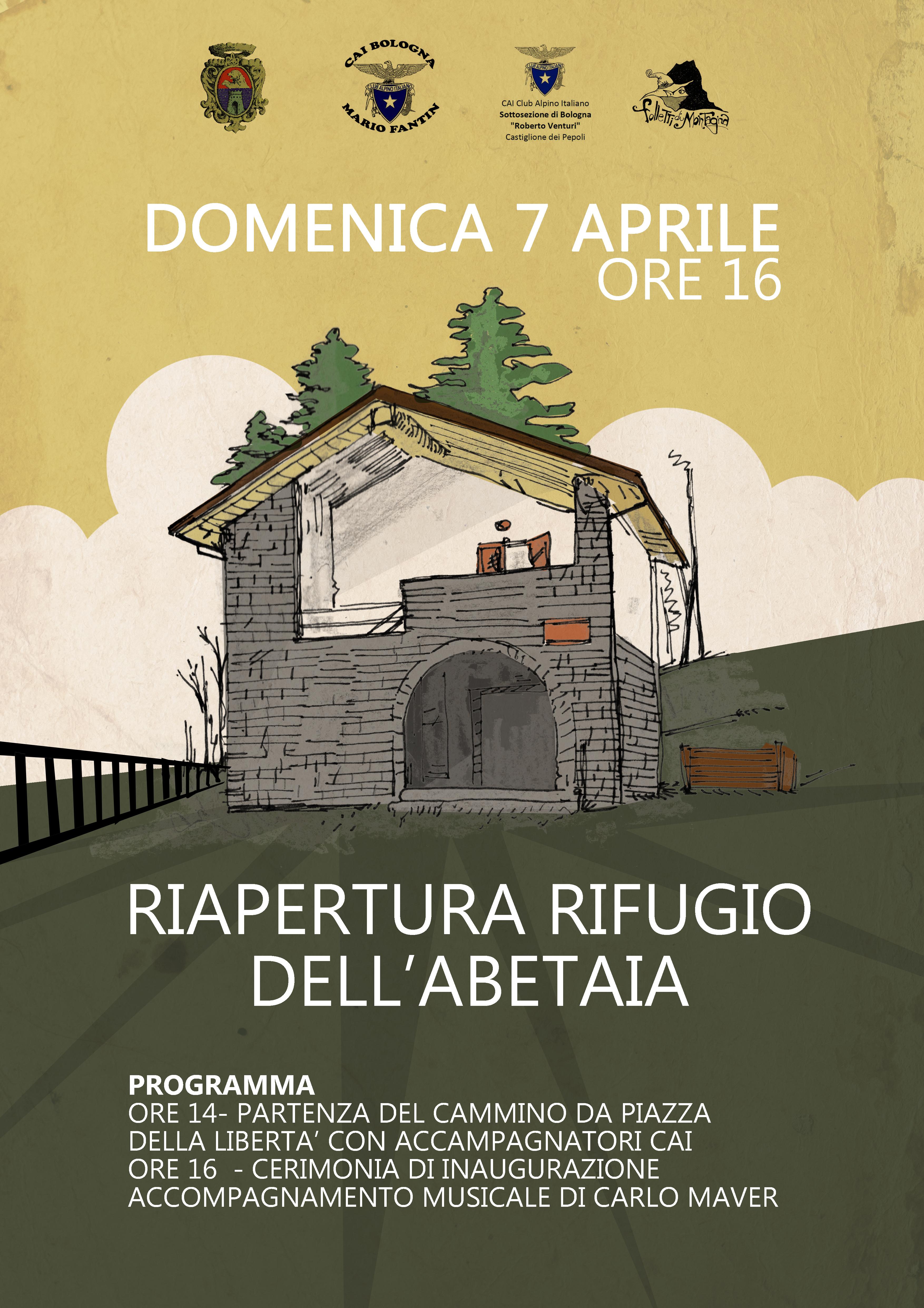 """Inaugurazione Rifugio Ranuzzi-Segni """"Abetaia"""""""